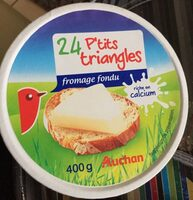 24 P'tits triangles de fromage fondu - Product - fr