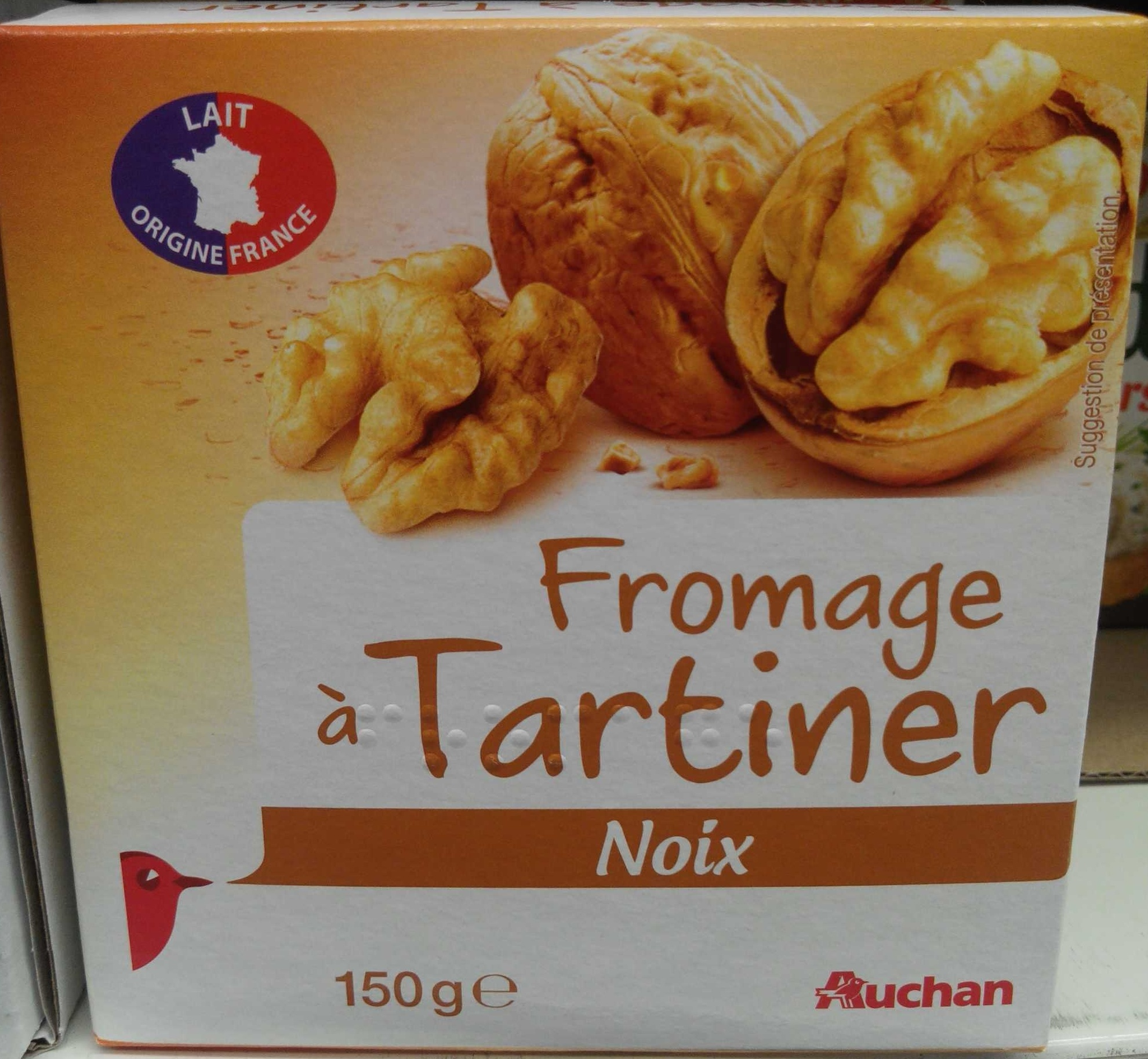 Fromage à Tartiner, Noix (25 % MG) - Product - fr