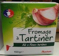 Fromage à Tartiner, Ail & Fines herbes (23,5 % MG) - Produit - fr