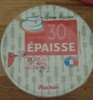 Crème fraîche entière épaisse (30% MG) - Product