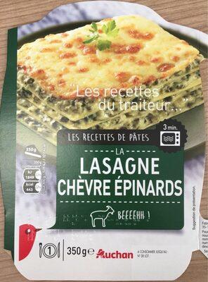 La Lasagne Chèvre Épinards - Produit - fr