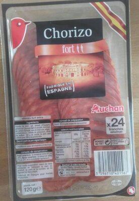 Véritable chorizo fort - Produit - fr