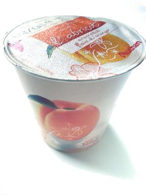 Yaourt brassé sucré à l'abricot aromatisé fleur d'oranger - Product - fr
