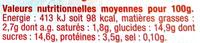 Yaourt brassé sucré à l'abricot aromatisé fleur d'oranger - Voedingswaarden - fr