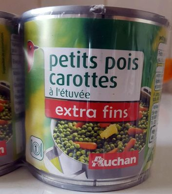 Petits pois - carottes extra fins à l'étuvée - Produit - fr