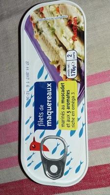 Filets de maquereaux (marinés au muscadet et aux 5 aromates) - 1