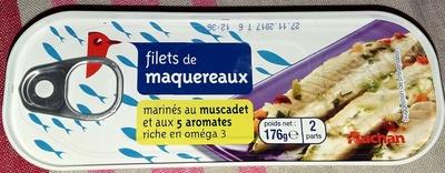 Filets de maquereaux (marinés au muscadet et aux 5 aromates) - Produit