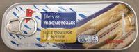 Filet De Maquereaux Sauce Mouratde A L'ancienne - Produit - fr