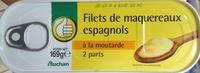Filets de maquereaux espagnols à la moutarde - Produit - fr