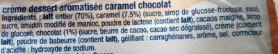 Crème dessert Caram'choc - Ingrédients - fr