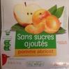 compote pomme-abricot sans sucres ajoutés - Product