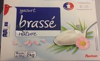 Yaourt Brassé Nature (16 pots) - Produit