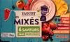 Yaourt aux fruits mixés sans morceaux (16 pots) - Produit