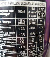 Planet Cola Cherry - Informazioni nutrizionali - fr