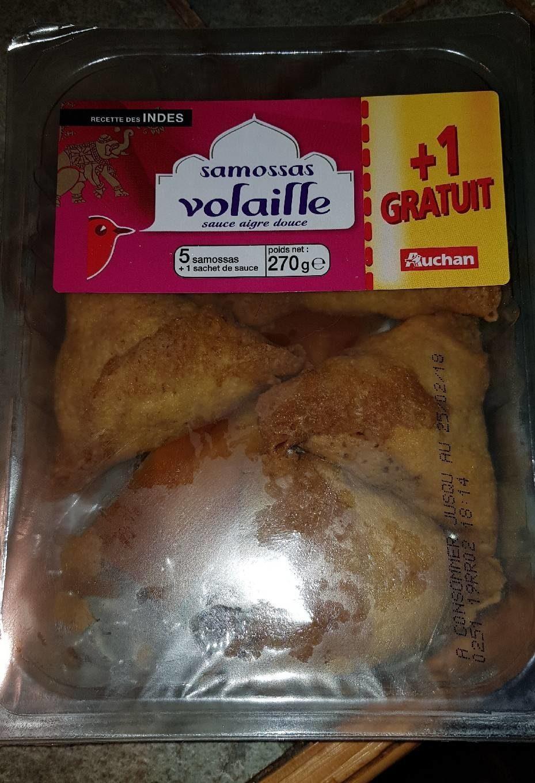 Samossas Volaille - Produit - fr