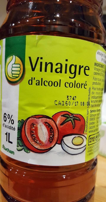 Vinaigre auchan 1l - Vinaigre d alcool cuisine ...