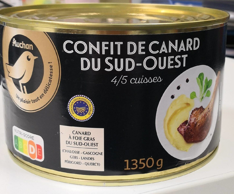 Confit de Canard du Sud Ouest - Prodotto - fr