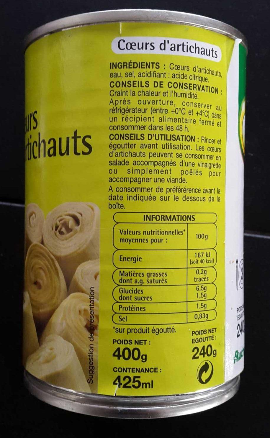 Coeurs d artichauts - Product