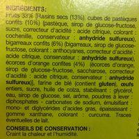 Cake aux fruits - Ingrediënten