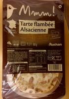 Mmm! Tarte flambée Alsacienne gratinée à l'emmental - Produit - fr