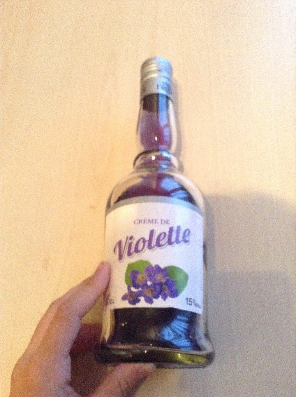 Crème de violette-Liqueur - Produit - fr