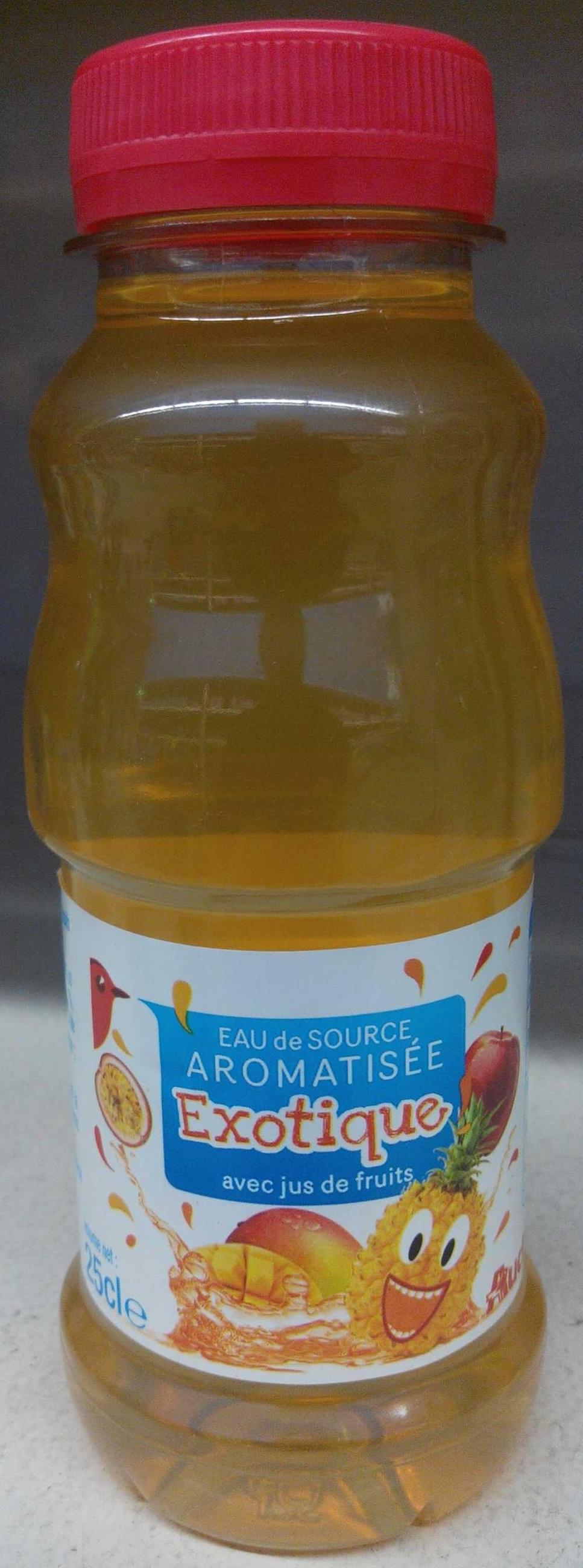 Eau de source aromatisée Exotique - Produit - fr