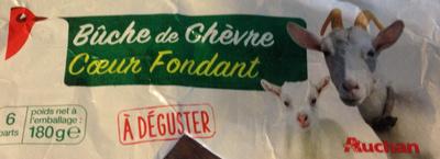 Bûche de chèvre coeur fondant - Product