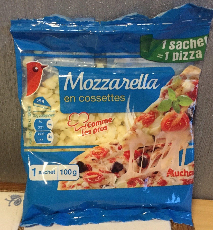 Mozzarella en Cossettes - Produit - fr