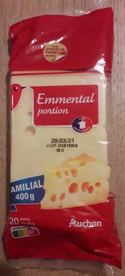 Emmental portion - Prodotto - fr