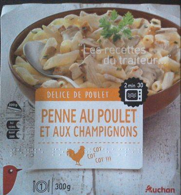 Recette Soupe de poulet aux champignons - Recettes