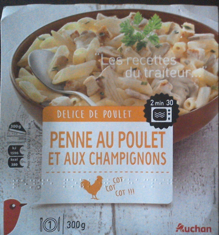 Penne au poulet et aux champignons - Produit - fr