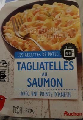 Tagliatelles au saumon - Produit - fr