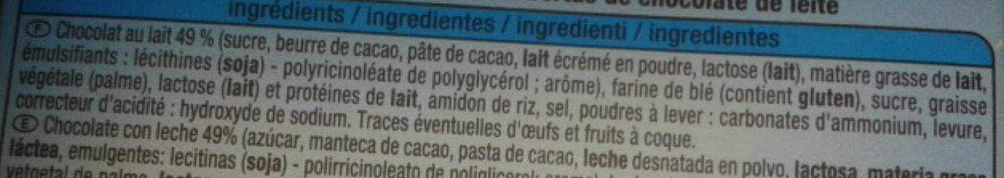 Choco Twizz - Ingredients