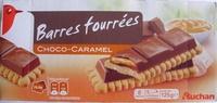 Barres fourrées Choco-Caramel (6 biscuits) - Produit