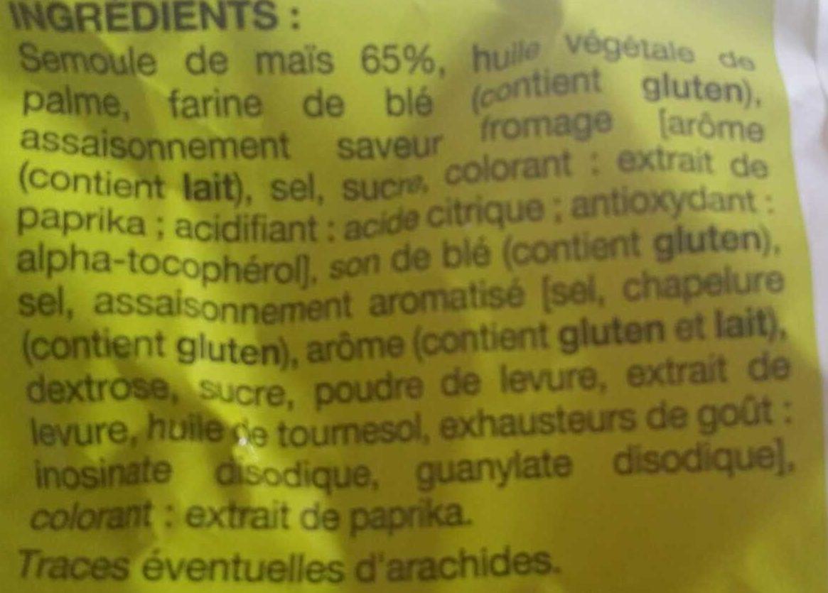 Soufflés Saveur Fromage - Ingredients - fr