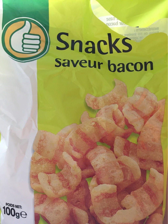 Snacks saveur bacon - Produit