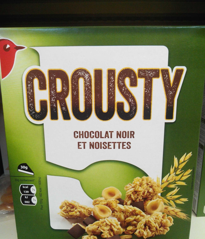 Crousty - Chocolat noir et noisettes - Prodotto - fr