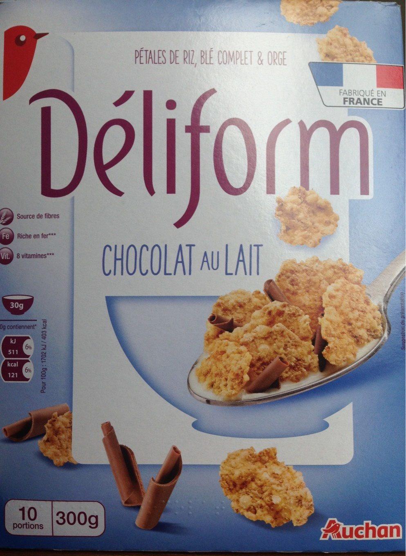 Déliform Chocolat au Lait - Produit - fr