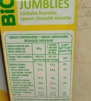 Jumblies - Informations nutritionnelles - fr