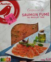 Auchan Carpaccio S.fume 145g - Produit