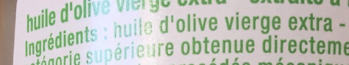 Huile d'olive - Ingrediënten - fr