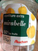 Confiture extra mirabelle - Produit - fr