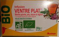 Infusion ventre plat* Menthe poivrée, anis, mauve et réglisse - Produkt - fr