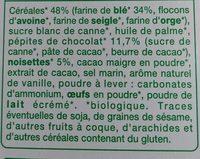 Biscuits petit déjeuner - Ingrédients - fr