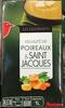 Velouté de poireaux & saint jacques - Produit