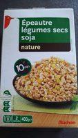 Épeautre légumes secs soja nature - Product