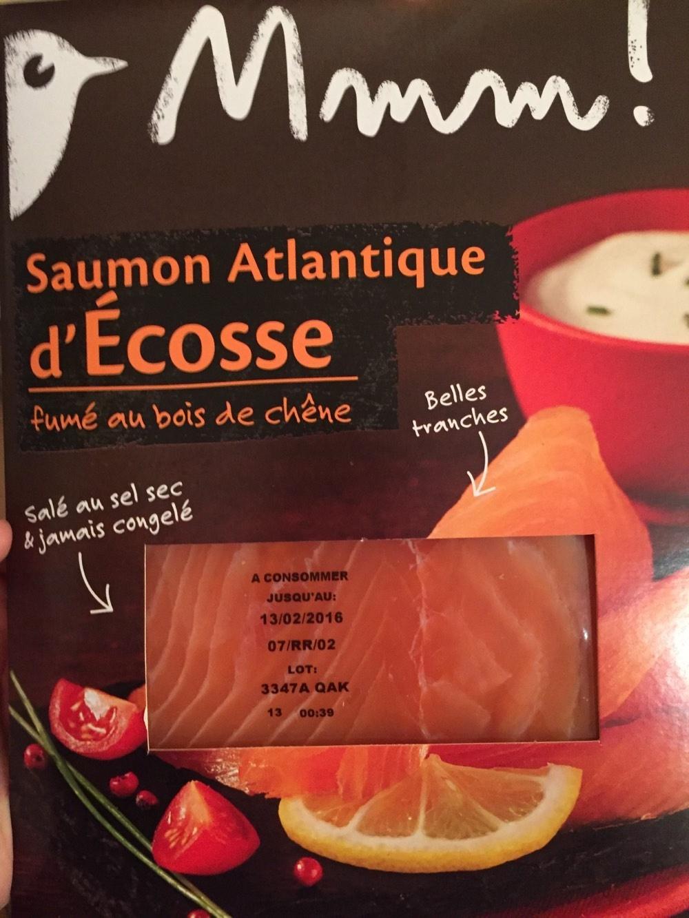 Saumon fumé Auchan - Product
