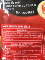 Sauce spéciale pizza - Ingrediënten