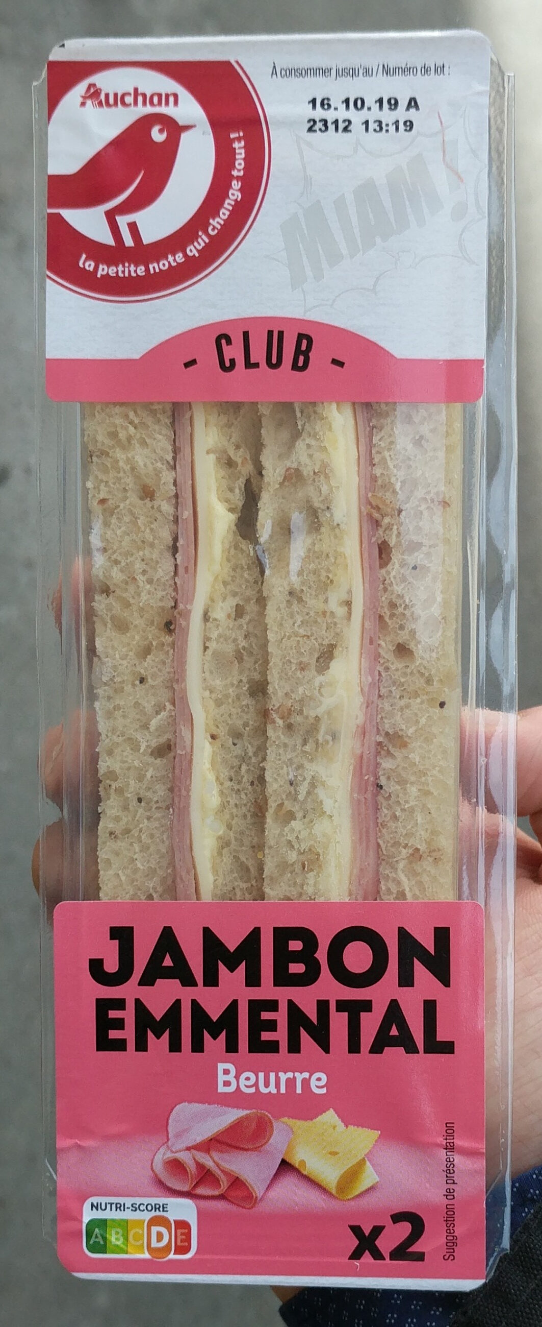 Pause Snack Jambon Emmental - Product
