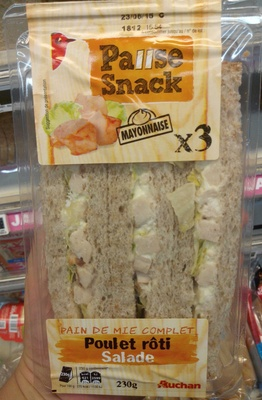 Pause Snack Poulet rôti Salade - Product